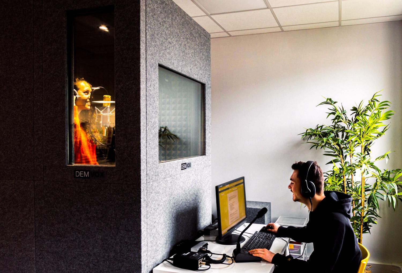 Mixage production audiovisuelle